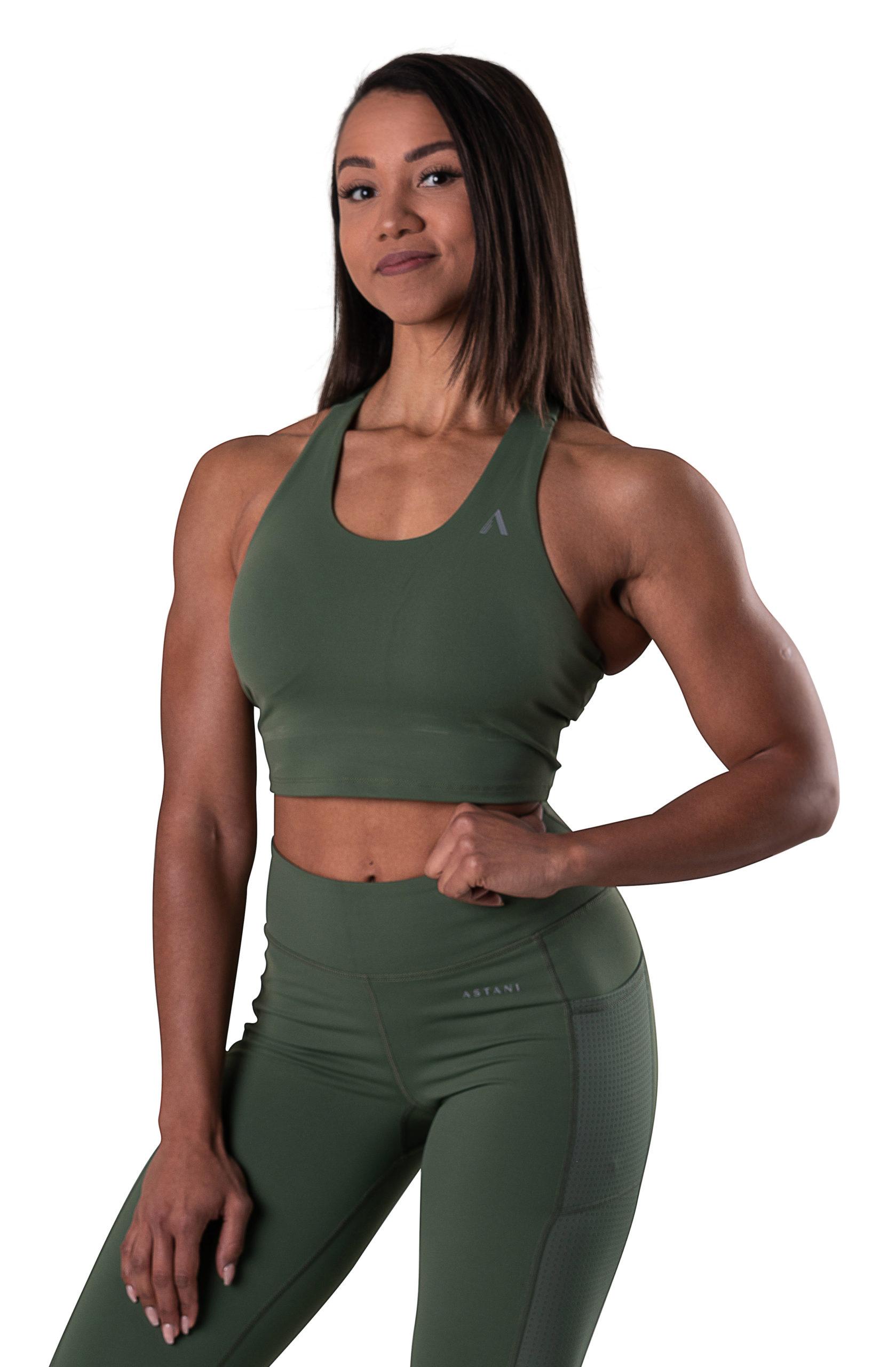 astaniwear-elegance-croptop-green-front cropped